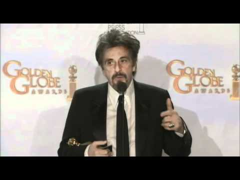 Al Pacino - You Don't Know Jack - Pressroom - Golden Globes 2011