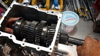 how to rebuild a tremec tko 3550 500 or 600 5 speed transmission