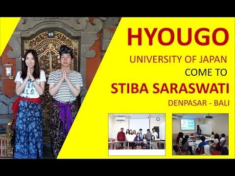 HYOUGO University of Japan come to STIBA Saraswati Denpasar, Bali