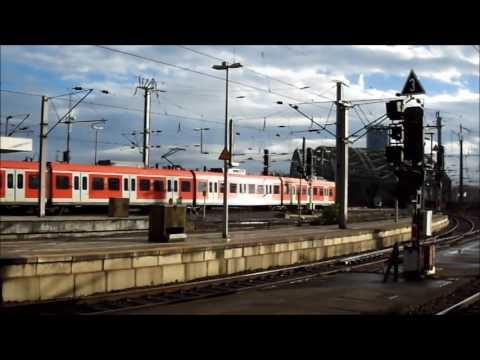 Dusseldorf Cologne Dusseldorf trainride in Germany