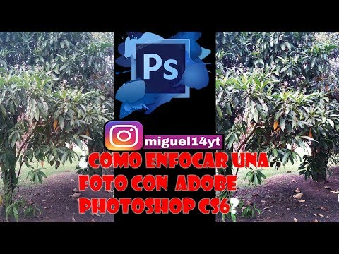 Tutorial Adobe Photoshop CS6: Como enfocar una foto thumbnail