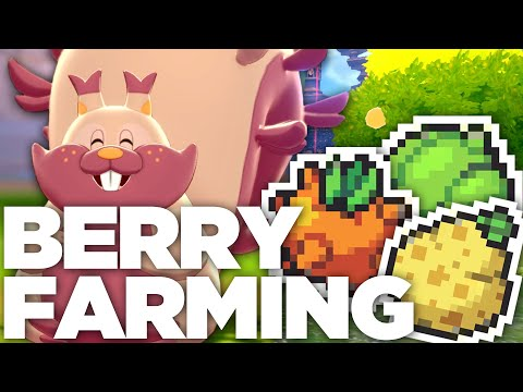 How To FARM BERRIES AND FAST In Pokemon Sword And Shield