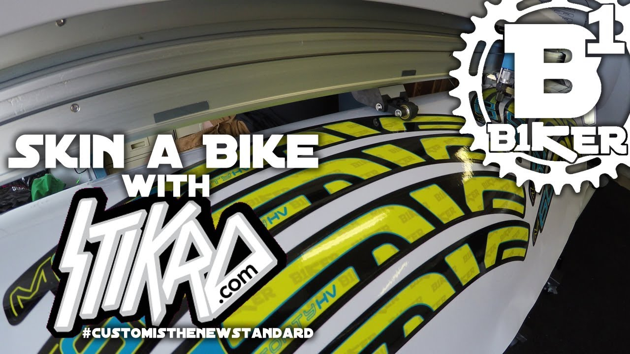 Skin a bike with stikrd stikrd headquarters san jose ca biking