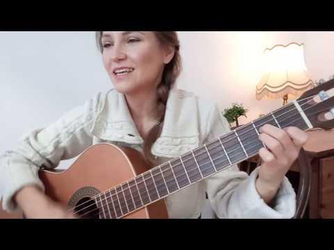 СНЕГ КРУЖИТСЯ ЛЕТАЕТ на гитаре / Такого снегопада