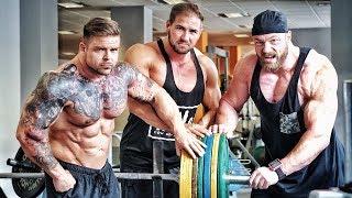 200kg für 10Reps - Bankdrücken mit Weltmeister