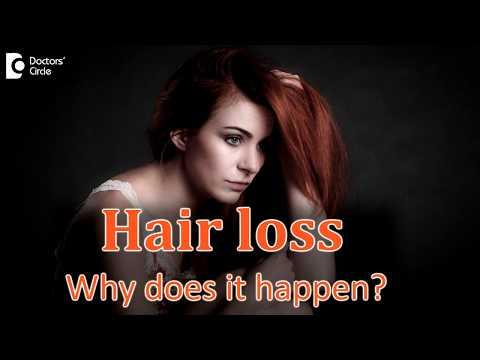 Important Causes Of Hair Loss - Dr. Shashi Kiran A R