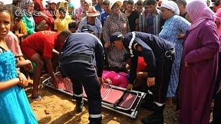 فاجعة غرق أطفال في واد الشراط  شاطئ الصخيرات التفاصيل