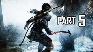 Rise of the Tomb Raider Walkthrough Part 5 - Abandoned Mines (Let's Play Gameplay Commentary)