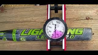 Senior Softball Bat Reviews (2.0 Dudley Balance Compression Test)
