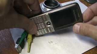 мобильный телефон Sony Ericsson C902i ремонт