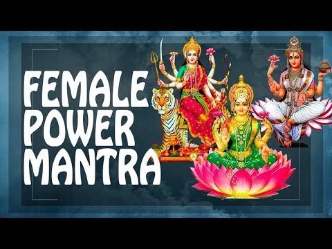 MANTRA AWAKENS FEMALE POWER + CHARM BEAUTY - Female Energy mantra ॐ Saraswati Durga Laxmi PM 2019