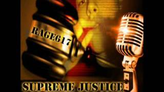 Rage617 - Over The Influence [Track 8 of Supreme Justice]