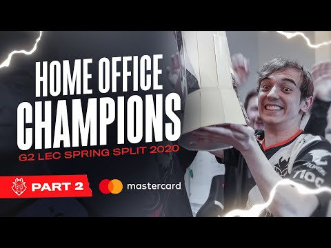 Home Office Champions | G2 LEC Spring 2020 Aftermovie Part 2