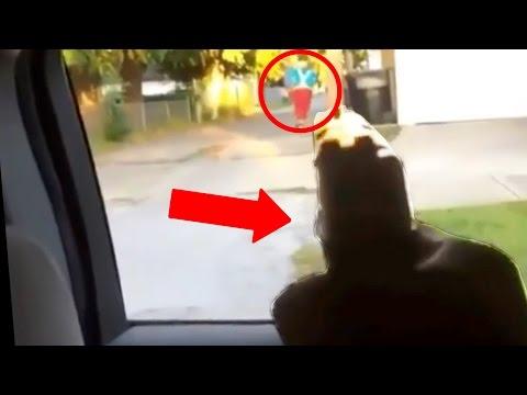 Top 10 CLOWN ATTACKS Caught on Video! (Clown Shooting, Clown Sightings, Car Hits Clown)
