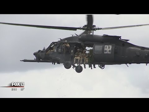 Special Ops teams 'invade' Tampa