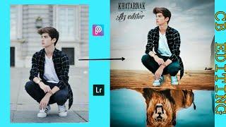 Best Editing Really CB Edit 2018 new Tiger photo editing Tutorial amazing Editing Picsart and Lightr