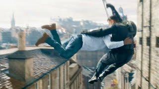 ドミニクvsジェイコブ!!兄が弟に空中ヘッドアタック!超ド迫力の兄弟喧嘩勃発!映画『ワイルド・スピード/ジェットブレイク』本編映像