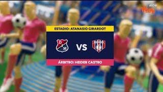 Medellín vs Unión Magdalena - Mejores jugadas Fecha 4 - Liga Aguila 2019 I