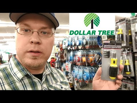 Mini Ratchet Screwdriver From Dollar Tree. Is It Worth Picking Up?