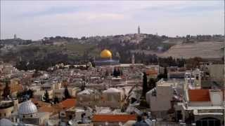 Jerusalem from the top of Phasael Tower (David's Citadel)