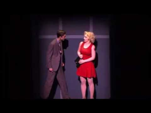 Timothée Chalamet in 'Sweet Charity' (LaGuardia HS production)