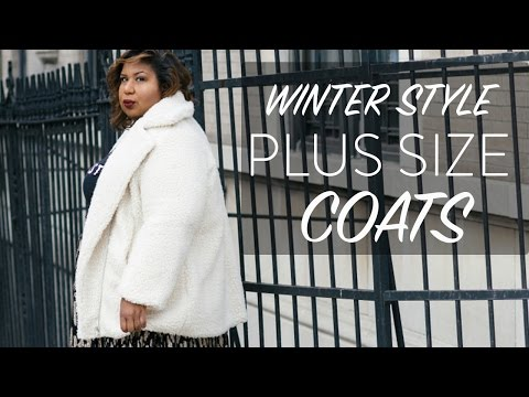 PLUS SIZE COATS + Try On   My Winter Style