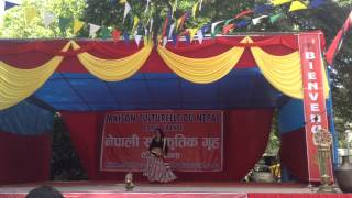 Menuka Thapa dance jhumka giryo re song