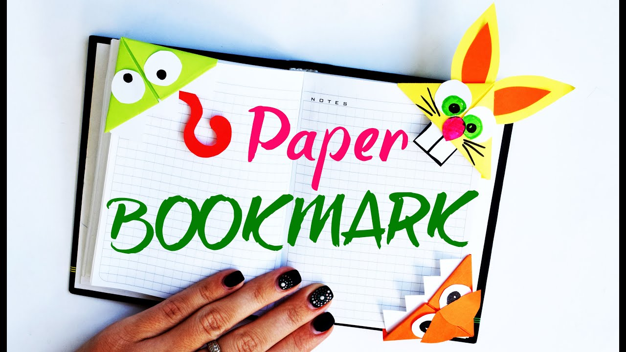 Bookmarks For Books Part - 15: How To Make BOOKMARKS For Books MONSTERS | Back To School
