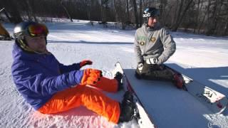 Школа сноуборда. Урок 22 - Жесткий сноуборд: тренируем идеальную стойку