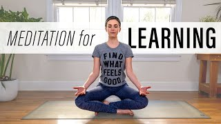 Meditation for Learning  |  Yoga With Adriene