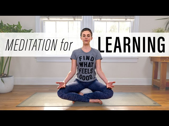 Meditation for Learning     Yoga With Adriene