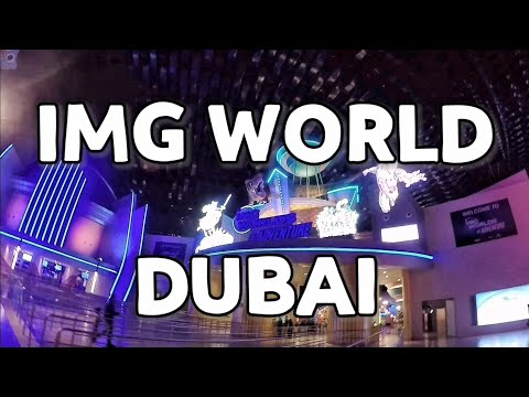IMG Worlds of Adventure, Indoor Theme Park | Phimie's Vlogs