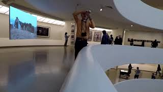 Descending the Guggenheim New York