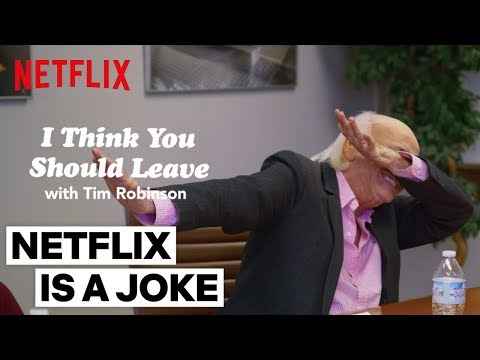 'Focus Group' Sketch | I Think You Should Leave w/ Tim Robinson | Netflix Is A Joke