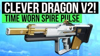 Destiny 2 | THE NEW CLEVER DRAGON! - The Time-Worn Spire Iron Banner Pulse Rifle!