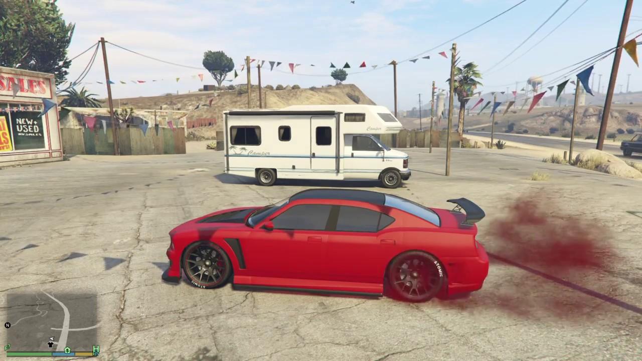 Tuneando El Coche De Franklin Grand Theft Auto V Youtube