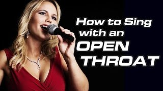 How to Sing with Open Throat / Classical Technique