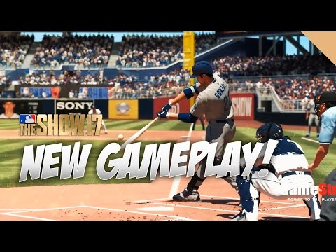 10 Minutes of Raw Gameplay in MLB The Show 17 Gameplay Mets vs Nationals