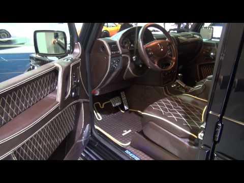 Interiour: Brabus G-V12 800 Geländewagen with 800 HP V12 BiTurbo Frankfurt Auto salon IAA 2011