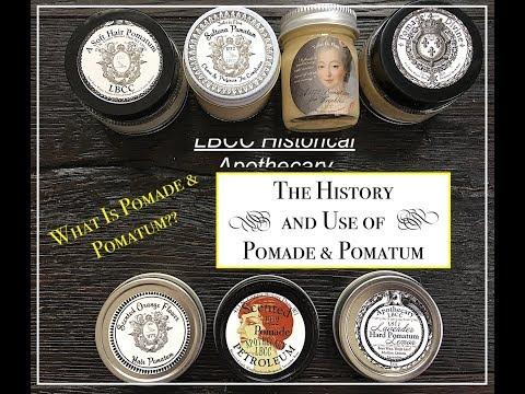 LBCC Historical Apothecary  I  Pomade & Pomatum History