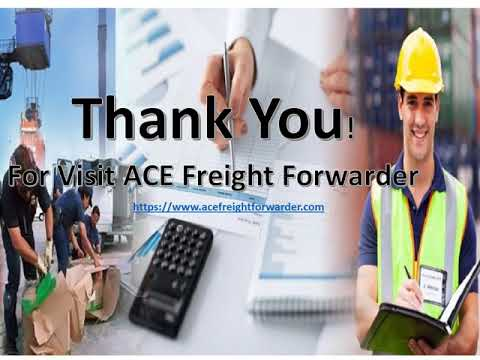 Freight Forwarding Agents in Ghaziabad   Company   Services   Agency - ACE Freight Forwarder