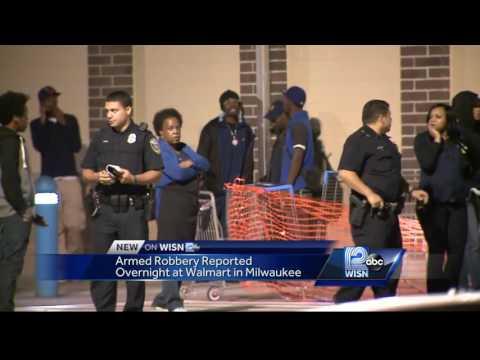 Milwaukee Walmart robbed overnight