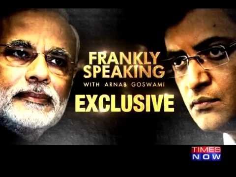 PM Modi Interview with Arnab Goswami   Modi on Pakistan