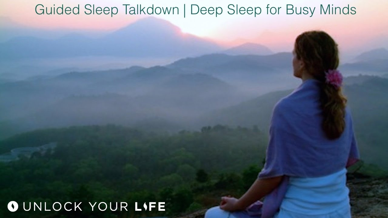 Guided Sleep Talkdown: Deep Sleep for Busy Minds and Anxiety Guided Meditation and Self-Hypnosis