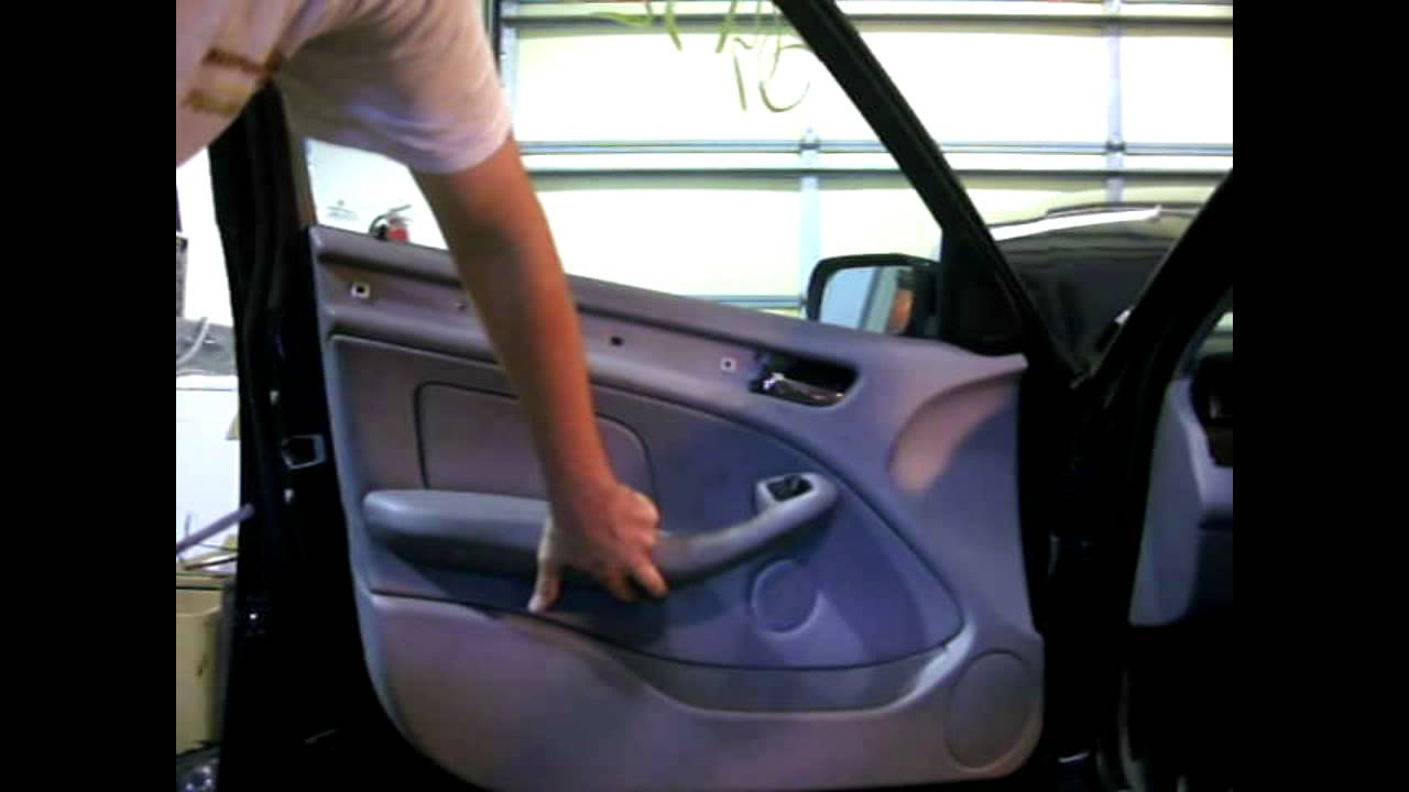 bmw e46 rear door trim
