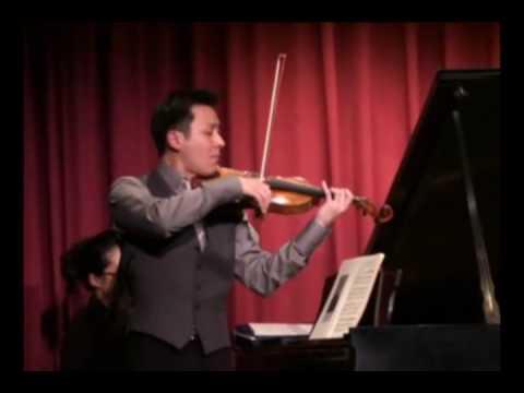 Conrad Chow plays Saint-Saens Introduction and Rondo Capriccioso on Violin