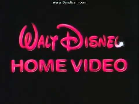1986 Walt Disney Home Video Logo Youtube