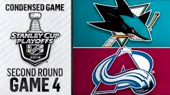 05/02/19 Second Round, Gm 4: Sharks @ Avalanche