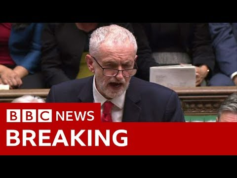 Corbyn: Extending Article 50 is 'now inevitable' - BBC News