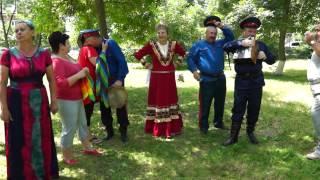 фольклорный праздник в станице Старочеркасской 25 мая 2014 г.